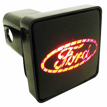 """Pilot Automotive Ford Hitch Cover LED Hitch Cover Lighted Hitch Cover fits 2"""" Trailer Hitches Sold Individually #CR007F"""