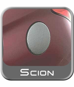 Scion xA Fuel Door Trim 2003-2007 Carbon Fiber Applique by Superior Dash Genuine Toyota #PTS10-52041