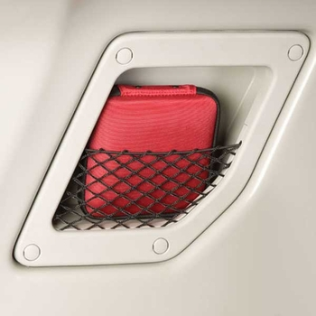 Scion xB C-Pillar Storage Pockets 2008-2015 Gray, w/Nets Set of 2 Set of 2 Genuine Scion #08446-12800