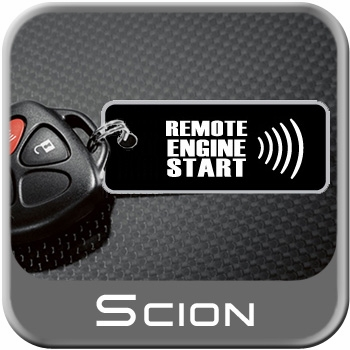 Scion xB Remote Engine Starter Kit 2008-2012 Complete Kit Genuine Scion #PT398-52080