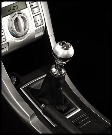 RedlineGoods Shift Boot Compatible with Scion xB 2008-15 Black Leather-Silver Thread