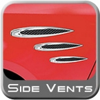 Side Fender Vents & Emblems