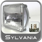Sylvania H4666 Headlight Bulb Silverstar Halogen Sold Individually #H4666ST
