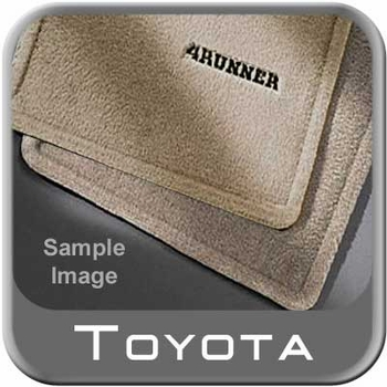 Toyota 4Runner Floor Mats 1996-2002 Carpeted, Oak 4-Piece Set Genuine Toyota #PT206-89010-14