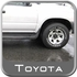 Toyota 4Runner Running Board End Cap 1996-2002 Passenger Side Front Black For models without wheel opening Moldings or Flares Sold Individually Genuine Toyota #00228-35967-PF