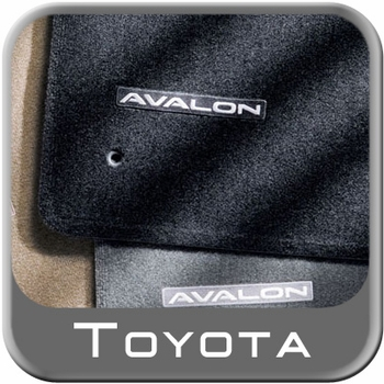 Toyota Avalon Carpeted Floor Mats 2005-2010 Dark Charcoal 4-Piece Set Genuine Toyota #PT206-07090-18