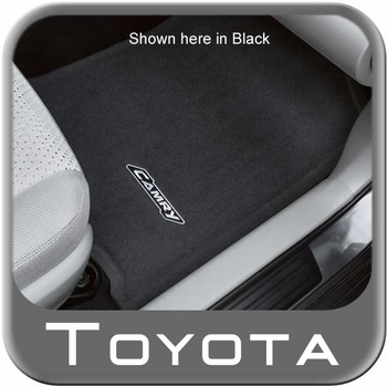 Toyota Camry Carpeted Floor Mats 2012-2014 Ash 4-Piece Set Genuine Toyota #PT208-03120-13
