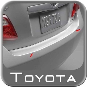 """Toyota Camry Rear Bumper Protector 2007-2011 Clear w/Pearl Coated """"Toyota"""" Logo Genuine Toyota #PT747-33062"""