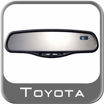 Toyota Camry Rear View Mirror 1988-2005 Auto Dimming Rear View Mirror with Compass Genuine Toyota #PT374-33050