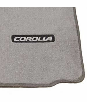 Toyota Corolla Carpeted Floor Mats 2003-2008 Light Gray 4-Piece Set Genuine Toyota #PT206-02040-11