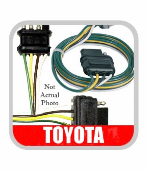 Toyota Corolla Rear Spoiler Wiring Harness 2003-2008 Genuine Toyota #PT47A-02040-WH
