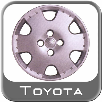 "Toyota Echo Wheel Cover 2000-2002 14"", Painted (simulated alloy) Single Cover Sold Individually Genuine Toyota #PT385-52020"