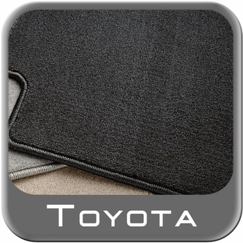 Toyota Highlander Carpeted Floor Mats 2008-2011 Hybrid Black 3rd Row Mat 1-Piece Genuine Toyota #PT919-48082-11