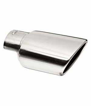 Toyota Highlander Exhaust Tip 2008-2013 Polished Stainless Steel Sold Individually Genuine Toyota #PT18A-48090