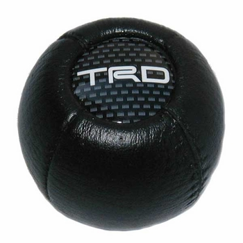 Toyota Leatherette Shift Knob Round, Ball Style Genuine Toyota #PTR04-00000-06