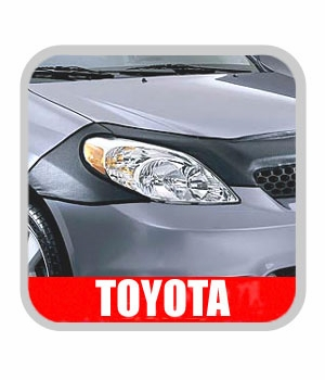 Toyota Matrix Car Bra 2003-2007 Half Mask Style Carbon Fiber Look Genuine Toyota #PT218-12021