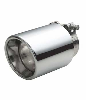 Toyota Matrix Exhaust Tip 2009-2013 Base Stainless Steel Tip Sold Individually Genuine Toyota #PT922-12081