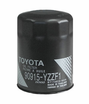 Toyota Oil Filter Spin-on Style Direct Factory Replacement Genuine Toyota #90915-YZZF1