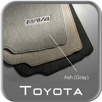 Toyota RAV4 Carpeted Floor Mats 2006-2012 Ash (Gray) 4-Piece Set Genuine Toyota #PT208-42051-31