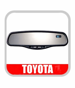 Toyota RAV4 Rear View Mirror 2001-2003 Auto Dimming Rear View Mirror with Compass Genuine Toyota #PT374-42020