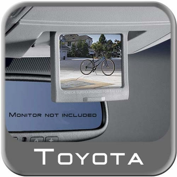 Toyota Sequoia Back up Camera 2008-2009 Fits in Tailgate Handle Genuine Toyota #PT233-0C080