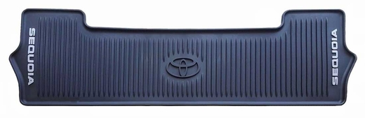 Toyota Sequoia Cargo Mat 2016-2019 Rubber, All Weather Black 1-Piece Genuine Toyota #PT908-0C163-02