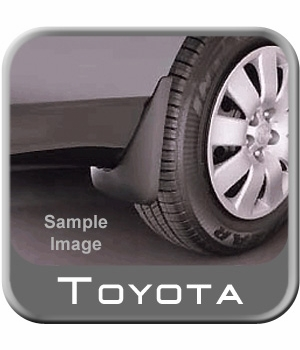 Toyota Sienna Mud Flaps 2004-2010 Black, Paintable 4 Piece Set Genuine Toyota #PT769-08040