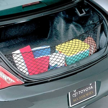 Toyota Solara Cargo Net 1999-2003 Convertible Envelope / Pocket Style Black Sold Individually Genuine Toyota #PT347-06990