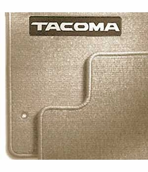 Toyota Tacoma Carpeted Floor Mats 1996-2004 Oak Front pair Genuine Toyota #PT206-35962-16