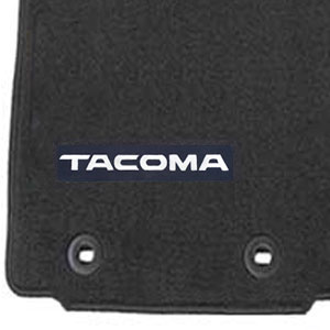 Toyota Tacoma Carpeted Floor Mats 2016-2017 Black Front Pair Genuine Toyota #PT206-35180-02