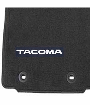 Toyota Tacoma Carpeted Floor Mats 2016-2017 Black Front Pair Genuine Toyota #PT206-35181-02