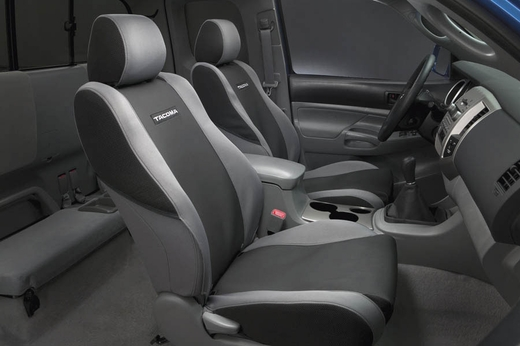 Toyota Tacoma Seat Covers 2005-2008 for SR5 / Base Seats Graphite Set of 2 Genuine Toyota #PT218-35059-01
