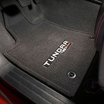 Toyota Tundra Carpeted Floor Mats 2015-2019 TRD PRO Edition, Black 3-Piece Set Genuine Toyota #PT206-34151-20