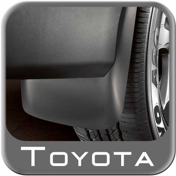 Toyota Venza Mud Flaps 2009-2016 Front Pair Black Front Pair Genuine Toyota #PU060-0T013-F1
