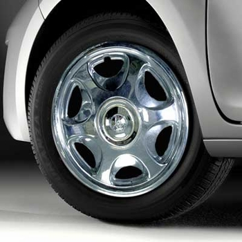 "Toyota Wheel Cover 14"", Chrome Single Cover Sold Individually Genuine Toyota #00266-00960"