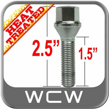 West Coast Wheel® 14mm x 1.5 Bolt Lug Tapered (60°) Seat Right Hand Thread Chrome Sold Individually #W3814CBH