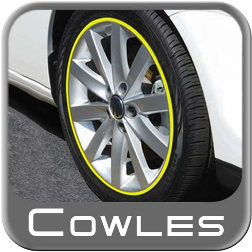 """1/4"""" Wide Yellow Wheel Trim Sold by the Foot, Cowles® # 37-524"""