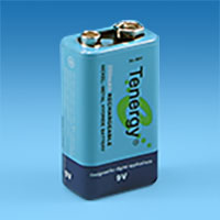 9 Volt Batteries and Chargers