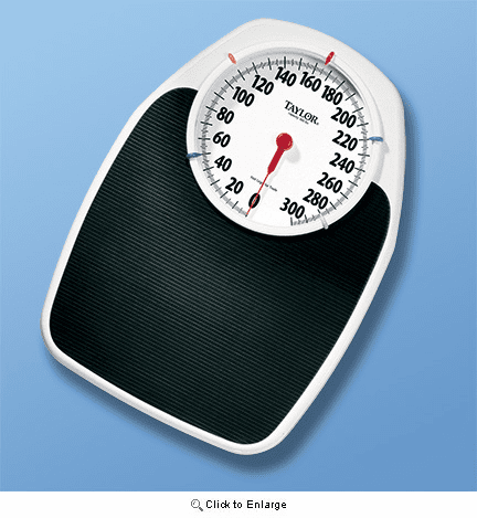 Large Number Bathroom Scale