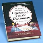 Large Print Dictionaries And Crossword Puzzles