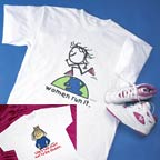 """Make A Statement With These Pre-shrunk 100% Cotton T-Shirts For Women!<P>Save 49&#37;!<BR><FONT COLOR=""""#FF0033""""><B>Only $10.95!</B></FONT></P>"""