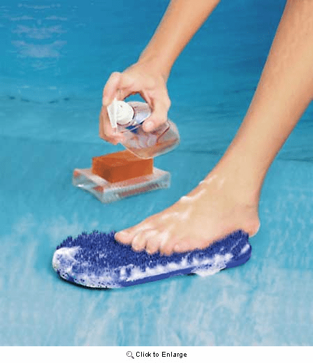 Soapy Soles Shower Brush