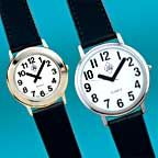 Stylish Quartz Watches With Large, Easy-Read Numbers