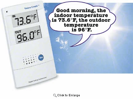 Talking Thermometer