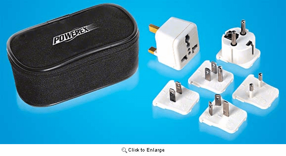 World Travel Plug Conversion Kit