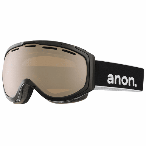 Anon Optic Hawkeye Snow Goggles<br>Black/Silver Amber