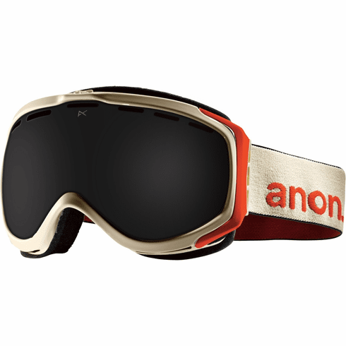 Anon Optic Hawkeye Snow Goggles<br>Fossil/Dark Smoke