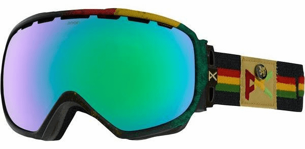 Anon Optic Insurgent Snow Goggles<br>Bredren/Green Solex