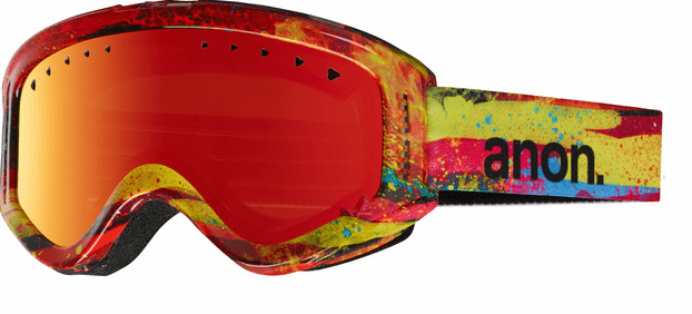 Anon Optic Tracker Snow Goggles<br>Oz/Red Amber