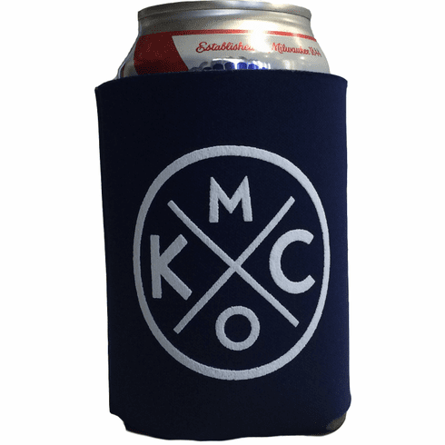 BunkerMade Kansas City Koozies<br>Navy/White